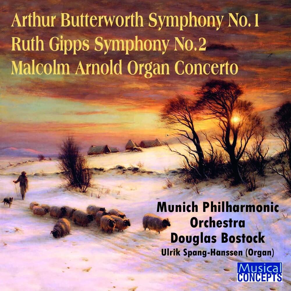 Douglas Bostock - Arthur Butterworth Symphony No.1/Ruth Gipps Sym.