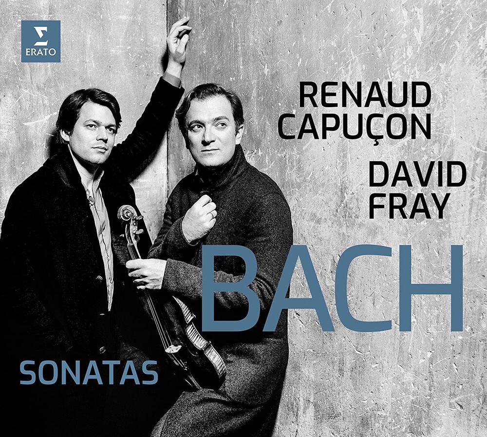 David Fray / Capucon,Renaud - Bach: Sonatas [Digipak]