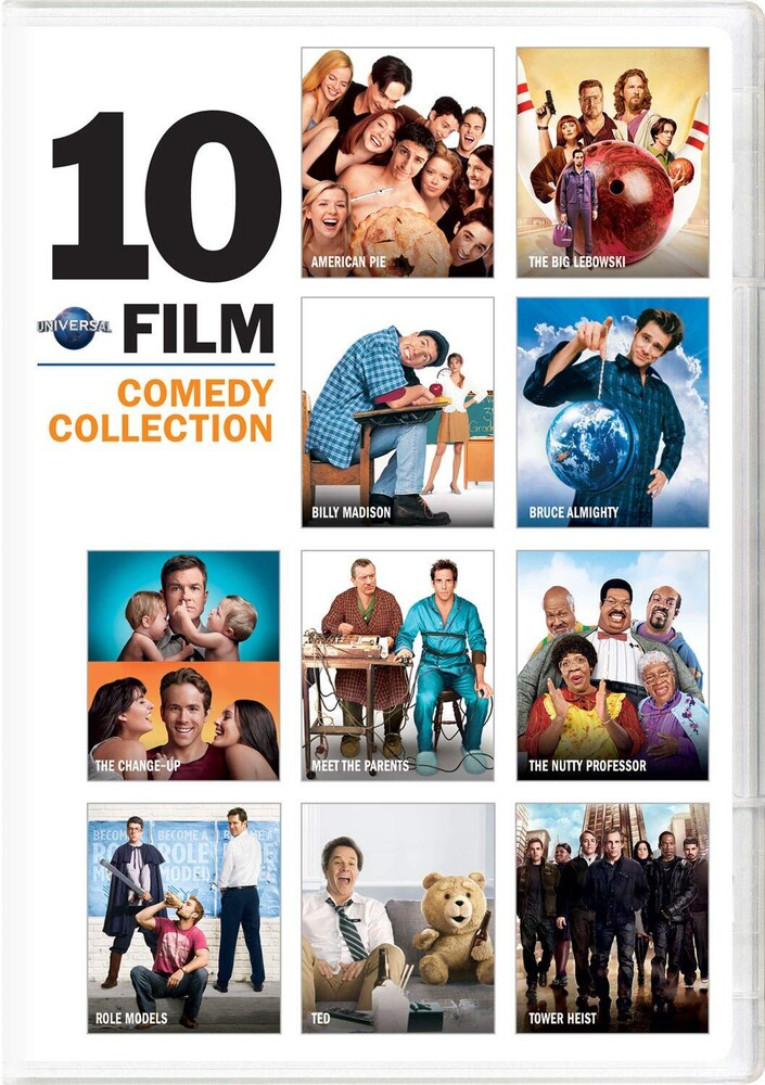 Universal 10-Film Comedy Collection - Universal 10-Film Comedy Collection (10pc) / (Box)