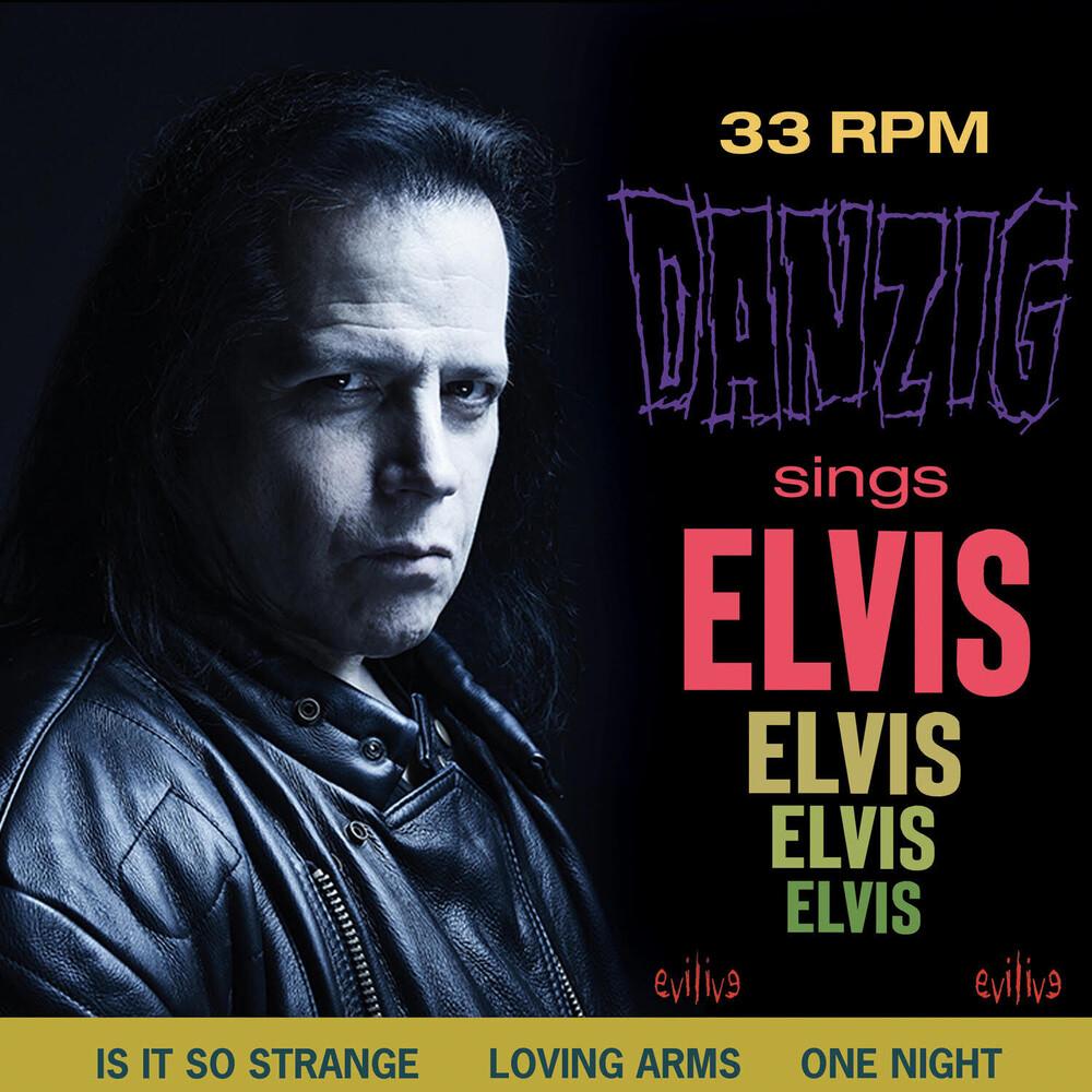 Glenn Danzig - Danzig Sings Elvis (Blue Vinyl) (Blue)