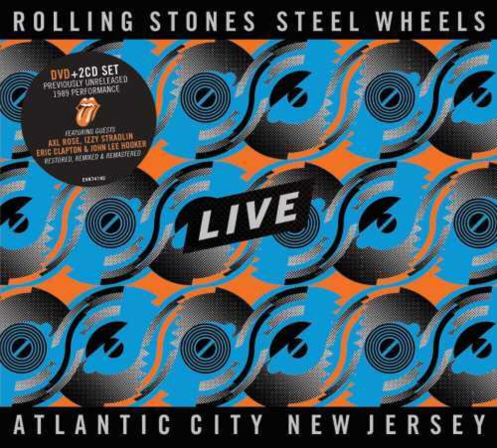 The Rolling Stones - Steel Wheels Live (Live From Atlantic City, NJ, 1989) [2CD/DVD]