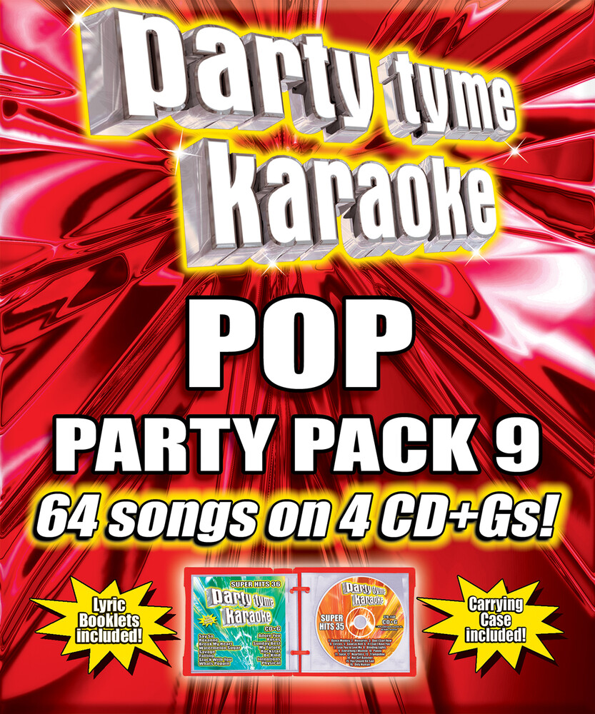 Party Tyme Karaoke Pop Party Pack 9 / Various - Party Tyme Karaoke: Pop Party Pack 9 / Various