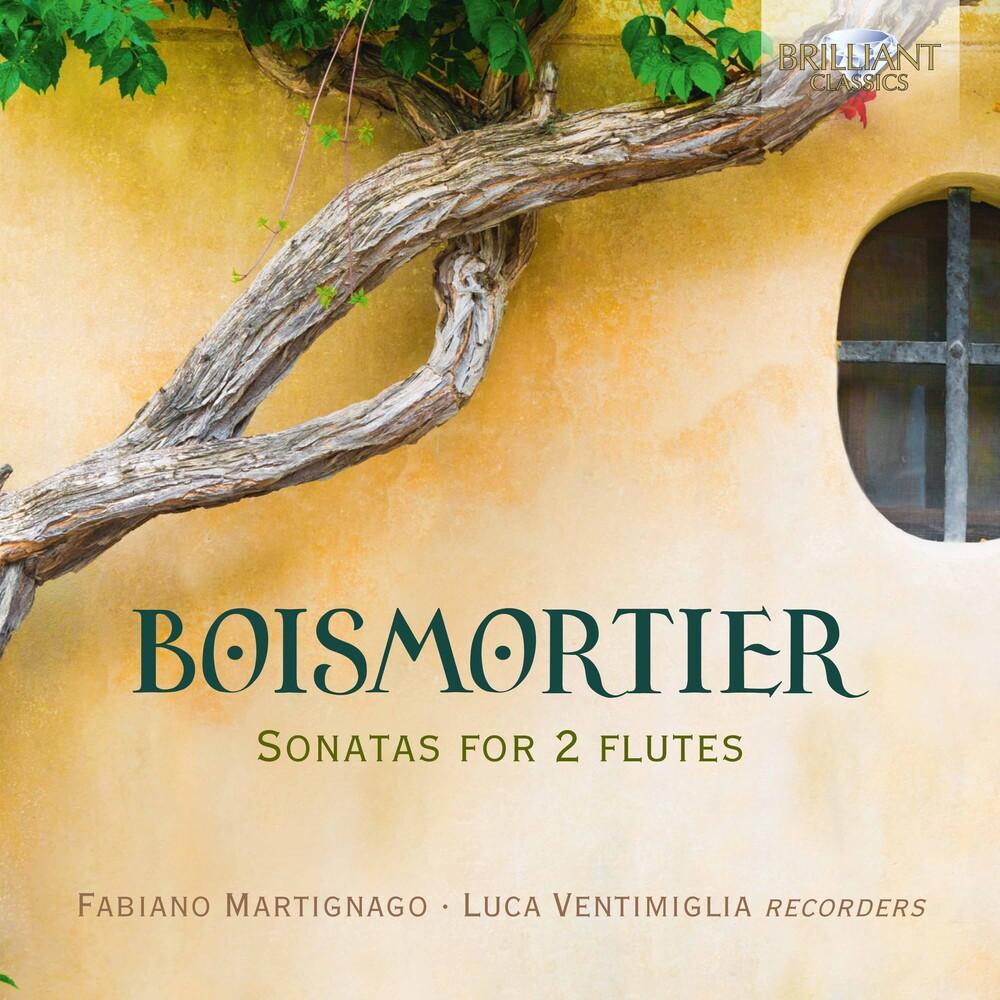 Boismortier / Martignago / Ventimiglia - Sonatas for 2 Flutes