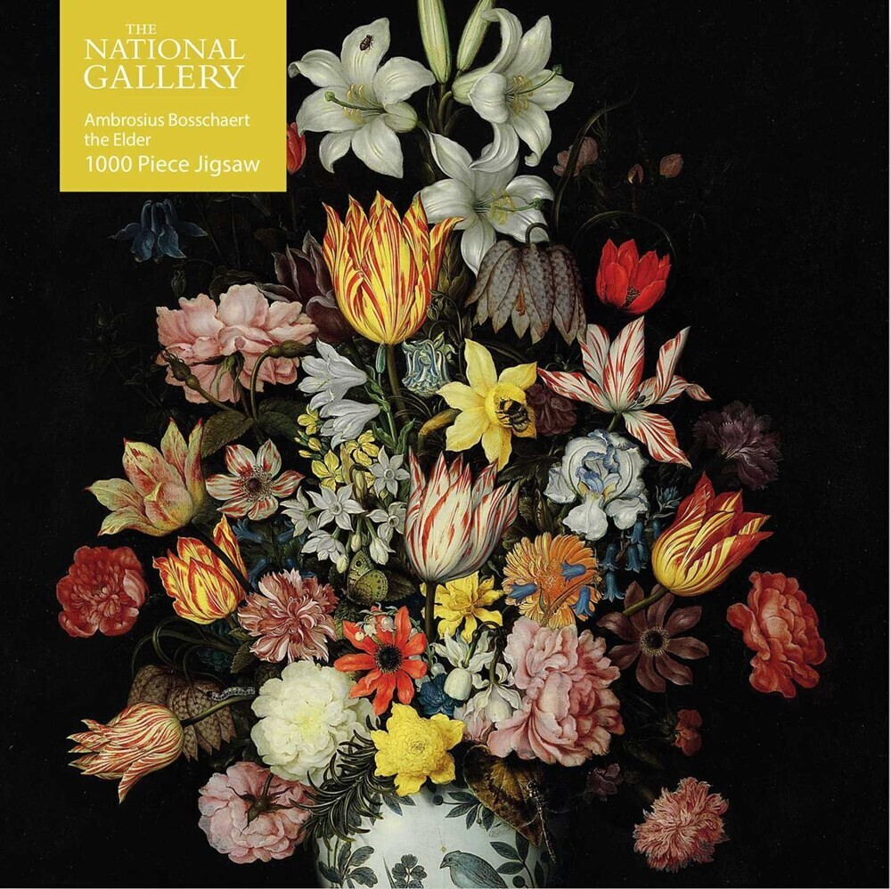 - Adult Jigsaw Puzzle National Gallery Bosschaert the Elder: A Still Life of Flowers: 1000-piece Jigsaw Puzzles
