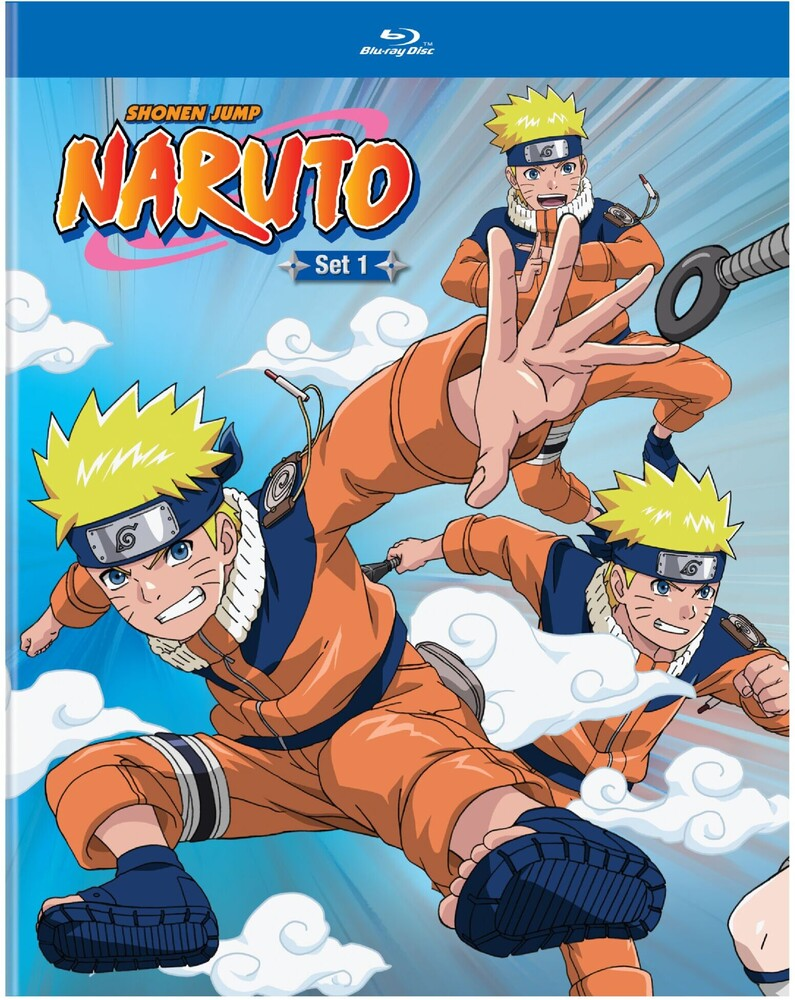 - Naruto Set 1 (4pc) / (Box)