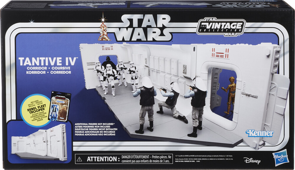 SW Vin Playset - Hasbro Collectibles - Star Wars Vintage Playset