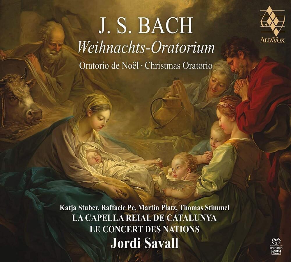 Le Concert Des Nations / Jordi Savall - Bach: Weihnachts-Oratorium