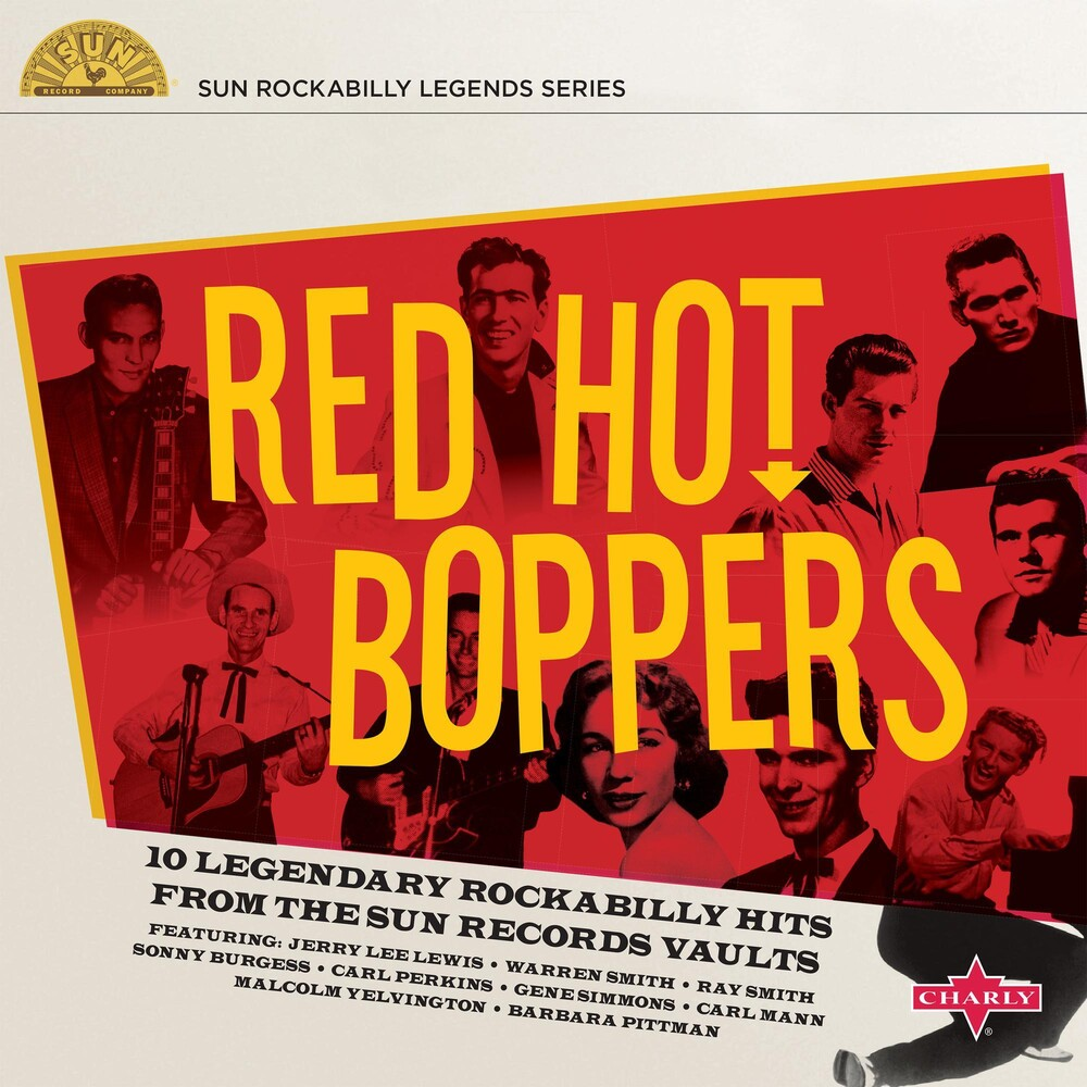 Red Hot Boppers / Various 10in - Red Hot Boppers (Various Artists)