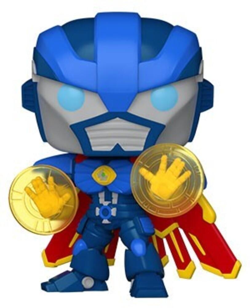 - FUNKO POP! MARVEL: Marvel Mech- Dr. Strange