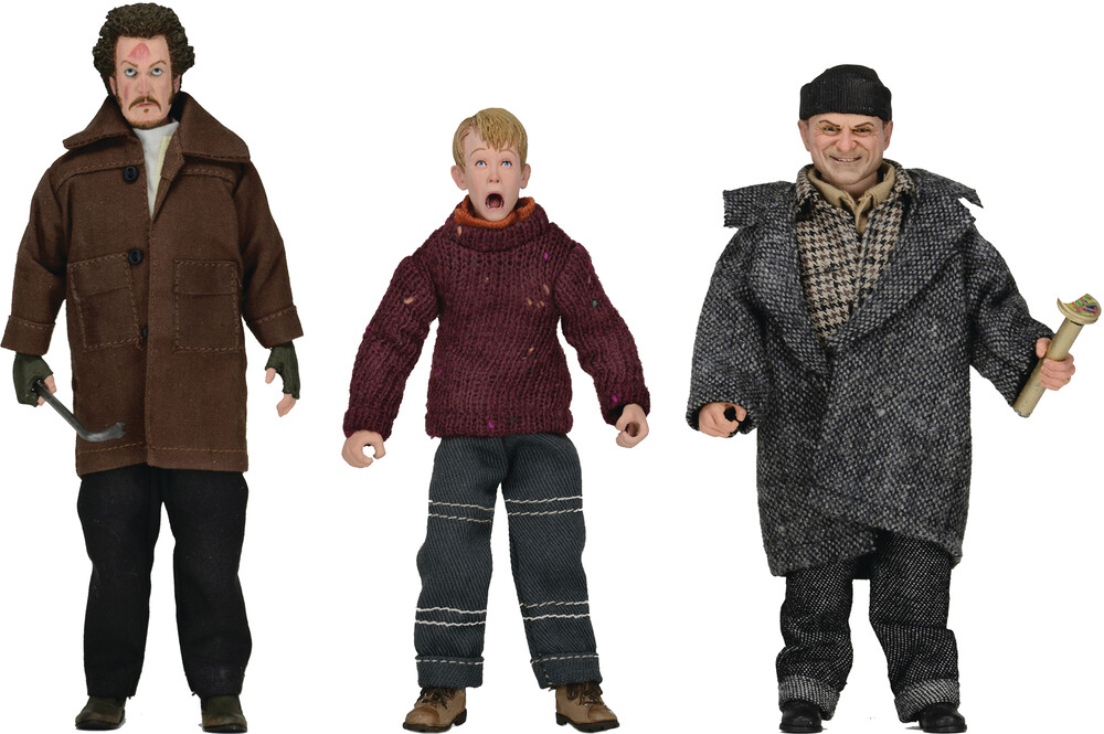 - NECA - Home Alone 8 Clothed Action Figure 8Pc Assortment
