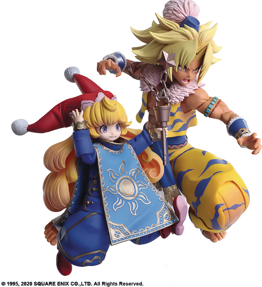 Square Enix - Square Enix - Trials Of Mana Bring Arts Kevin & Charlotte ActionFigure Set