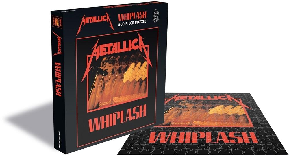 Metallica Whiplash (500 Piece Jigsaw Puzzle) - Metallica Whiplash (500 Piece Jigsaw Puzzle)