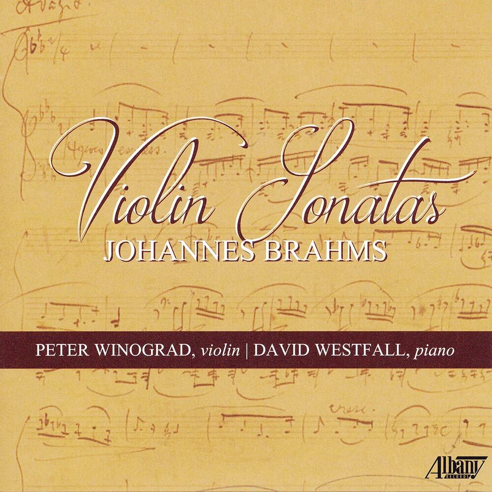 Winograd & Westfall - Violin Sonatas Johannes Brahms