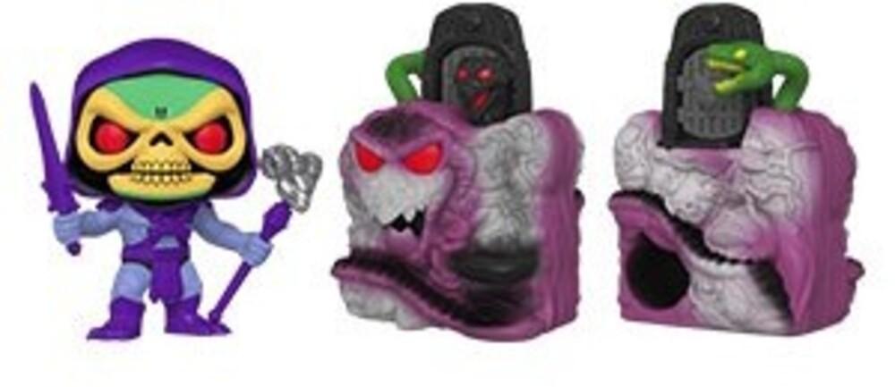 - FUNKO POP! TOWN: Masters of the Universe- Skeletor w/Snake Mountain