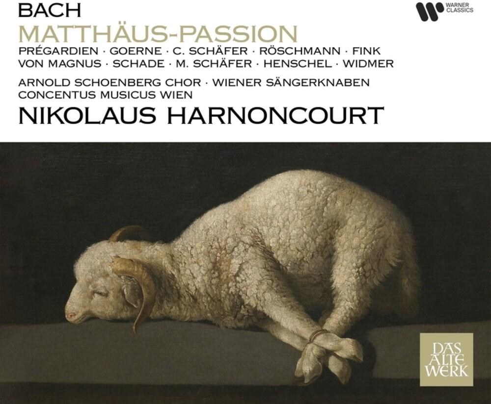 Nikolaus Harnoncourt  / Concentus Musicus Wien - St Matthew Passion - Passion Selon St Matthieu (Bach)
