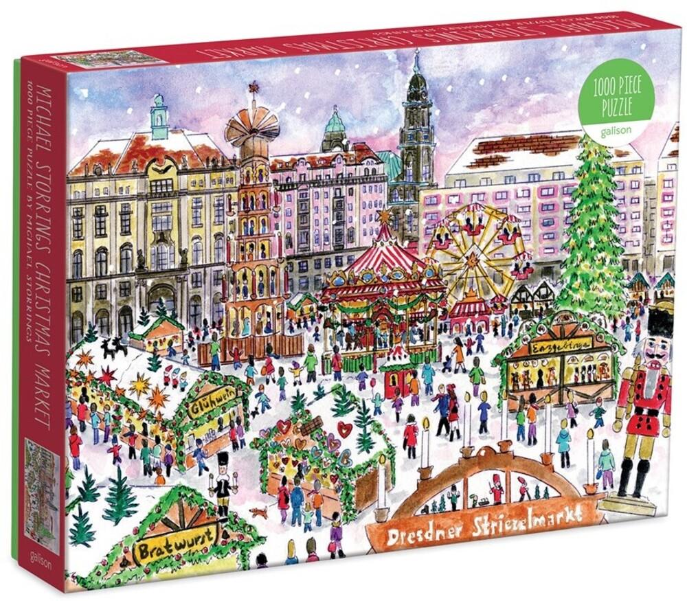 - Michael Storrings Christmas Market 1000 Piece Puzzle