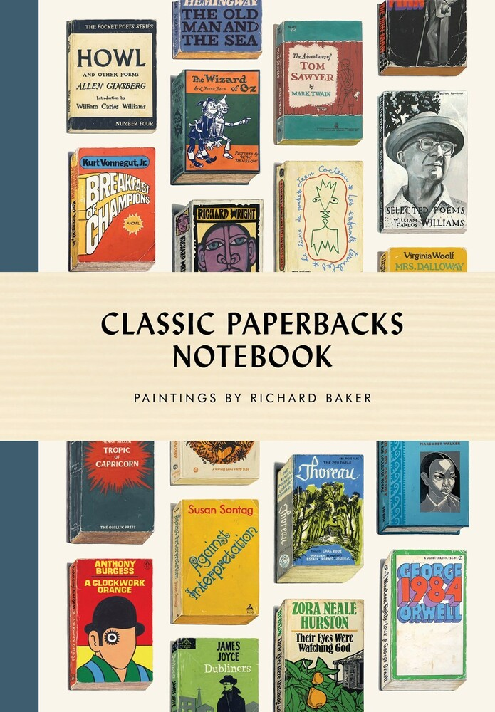 Richard Baker - Classic Paperbacks Notebook