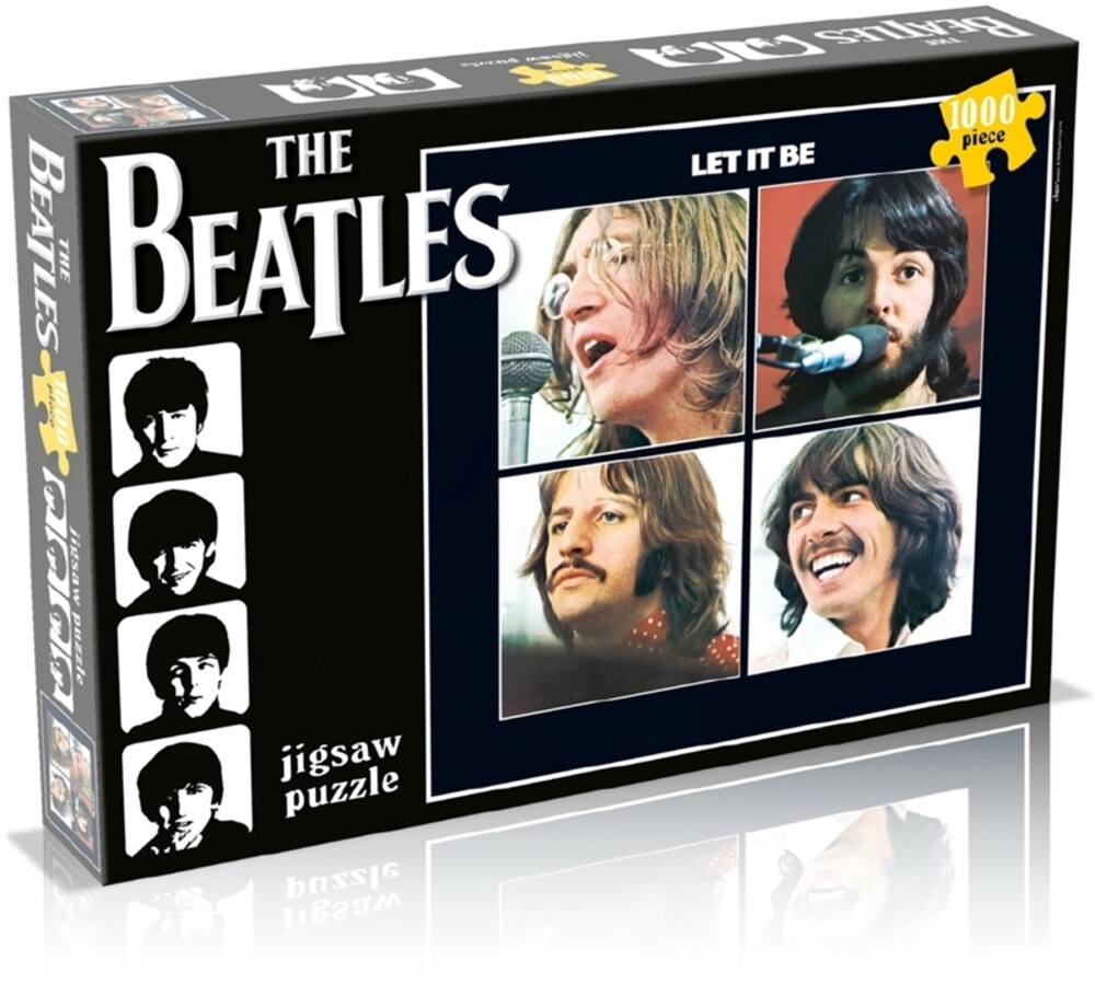- Beatles Let It Be (1000 Piece Jigsaw Puzzle)