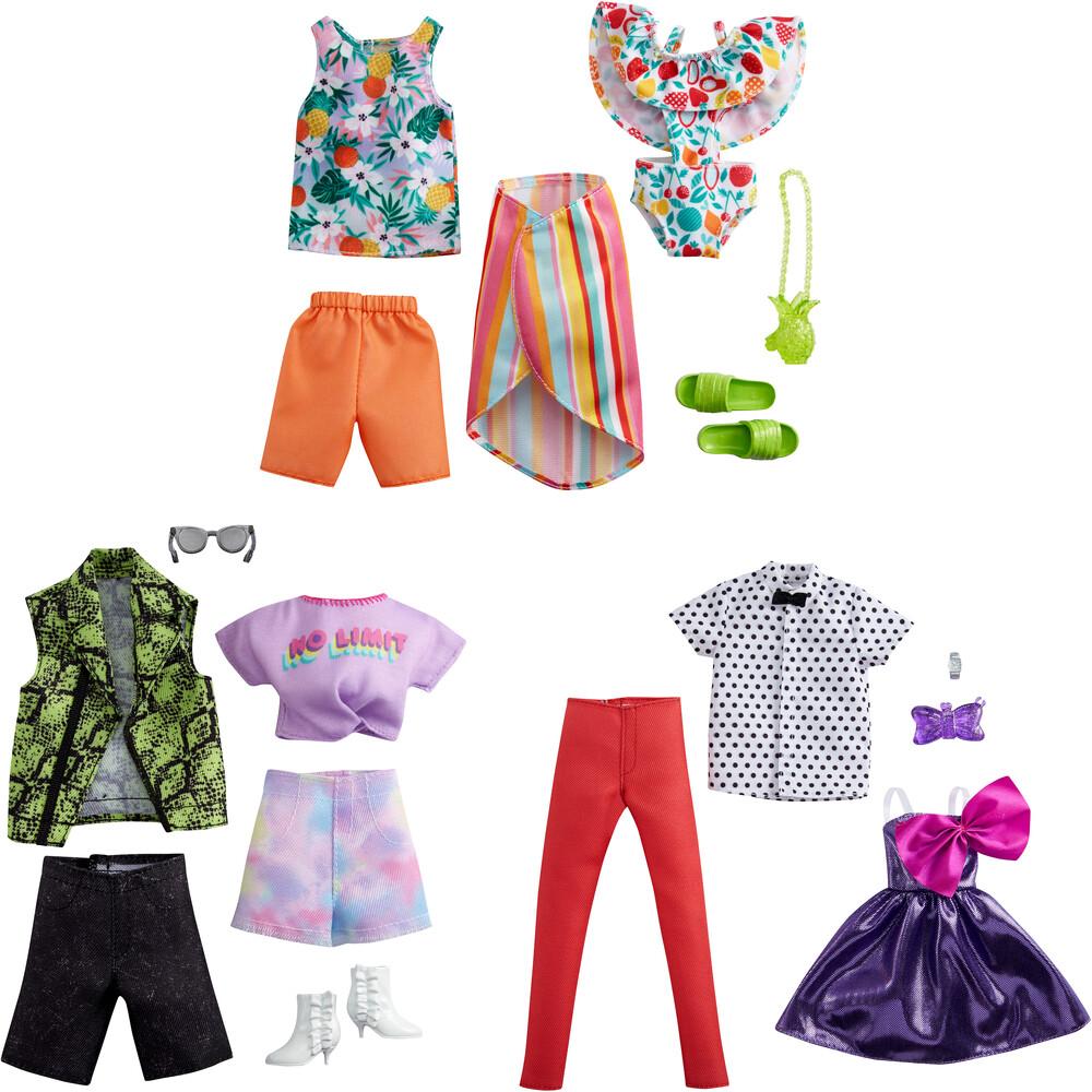 - Mattel - Barbie & Ken Fashion 2-Pack Assortment