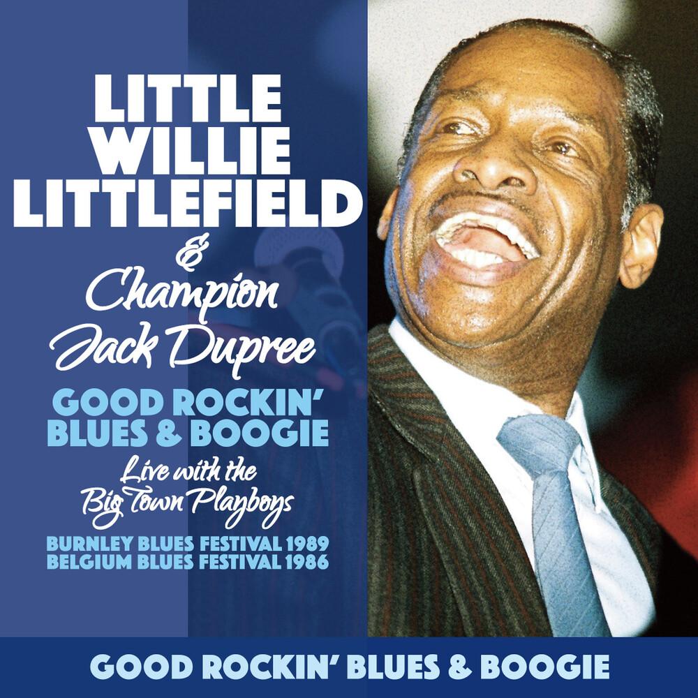 Little Willie Litttlefield & Champion Jack Dupree - Good Rockin' Blues & Boogie
