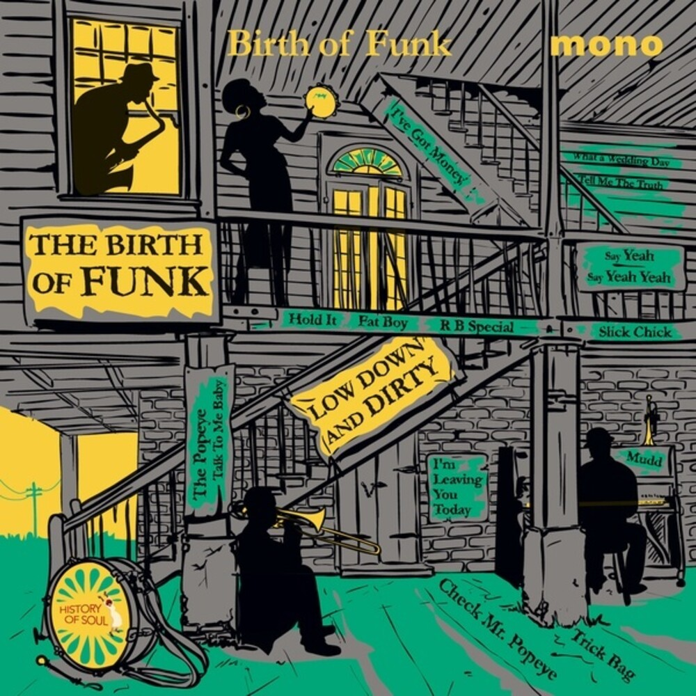 Various Artists - Birth Of Funk 1949-1962 / Various