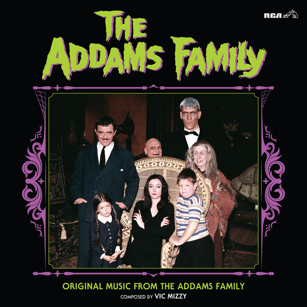 Vic Mizzy Blk Grn Ltd - Original Music From The Addams Family (Blk) (Grn)