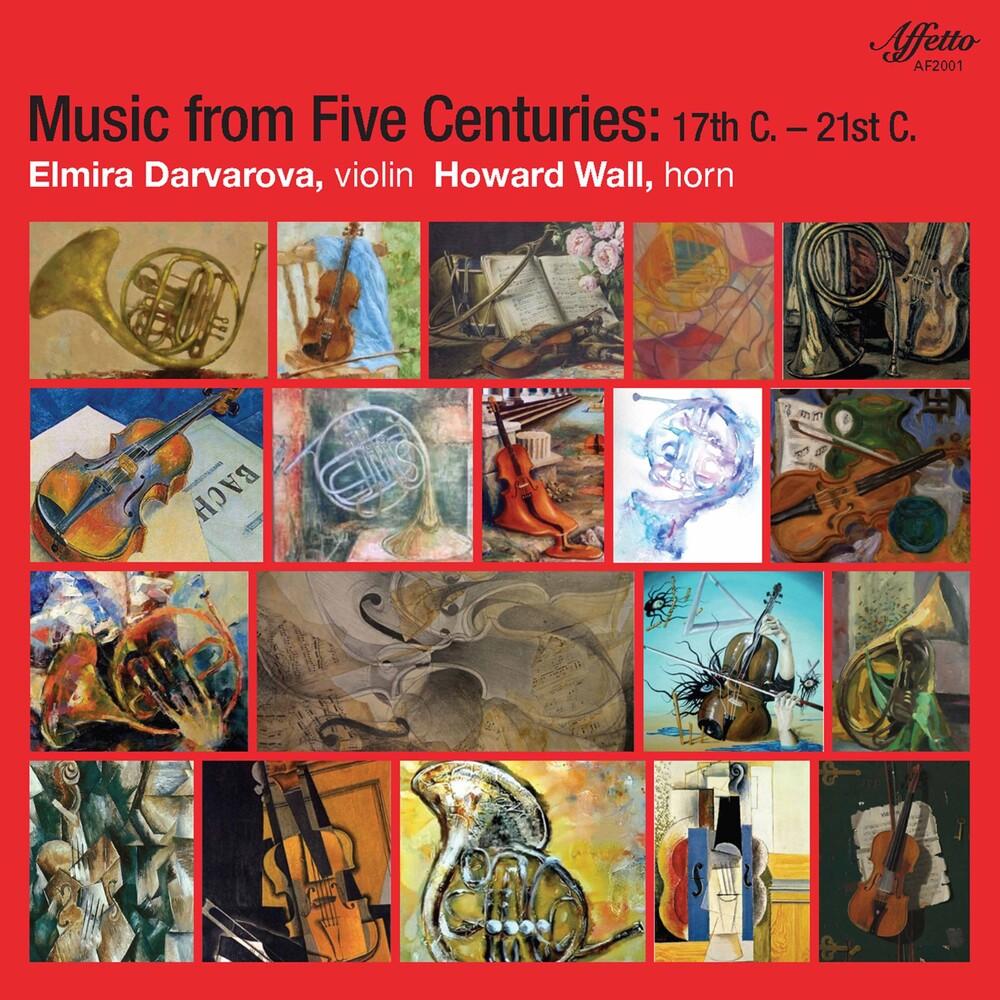 Elmira Darvarova - Music From Five Centuries / Various (2pk)