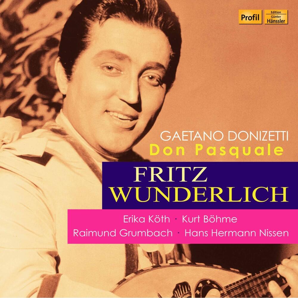 Fritz Wunderlich - Don Pasquale (2pk)