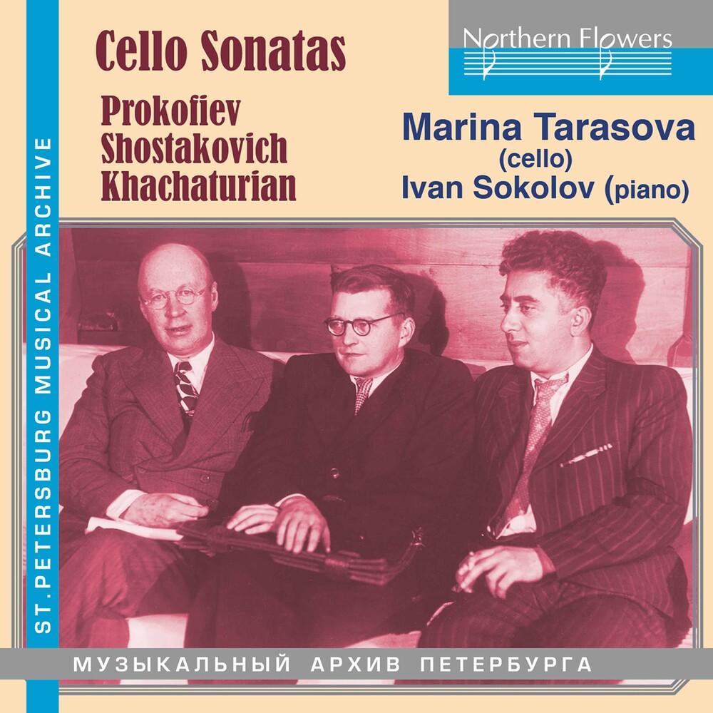 Marina Tarasova - Cello Sonatas: Prokofiev/Shostakovich/Khachaturian
