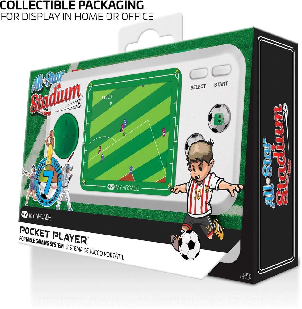 - My Arcade DGUNL-3275 ALL-STAR STADIUM POCKET PLAYER