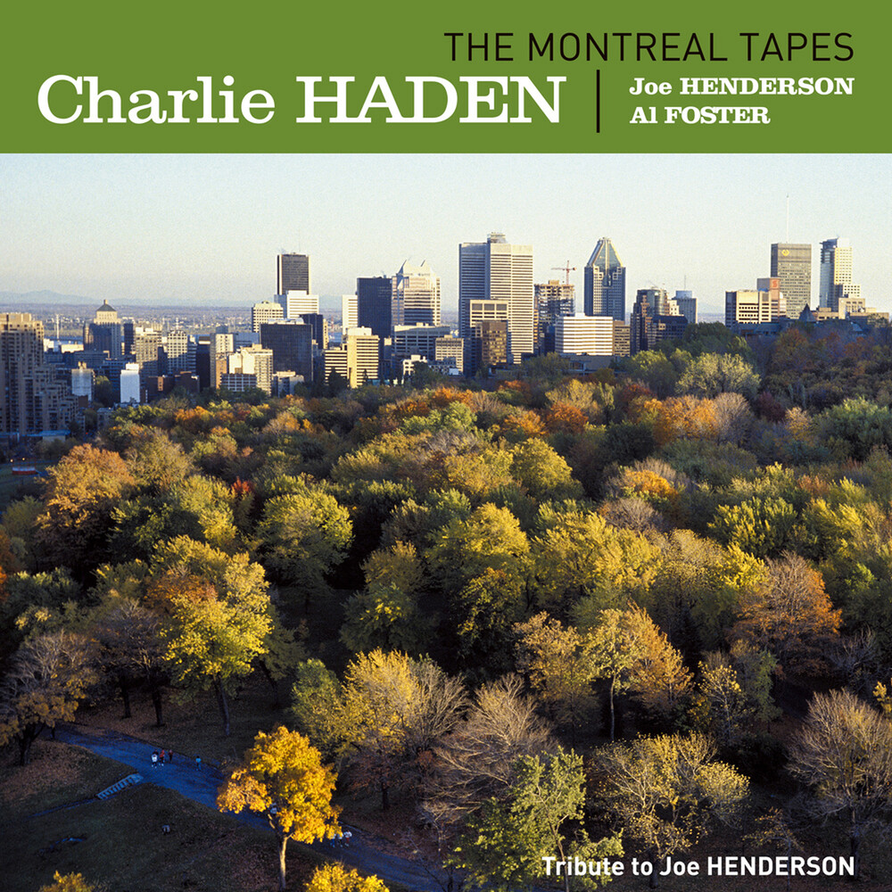 Charlie Haden - Montreal Tapes: Tribute To Joe Henderson (Ogv)