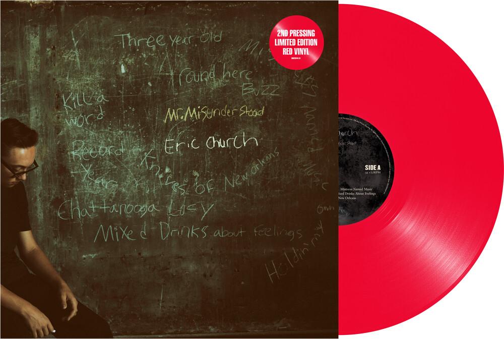 Eric Church - Mr Misunderstood [Limited Edition Red LP]