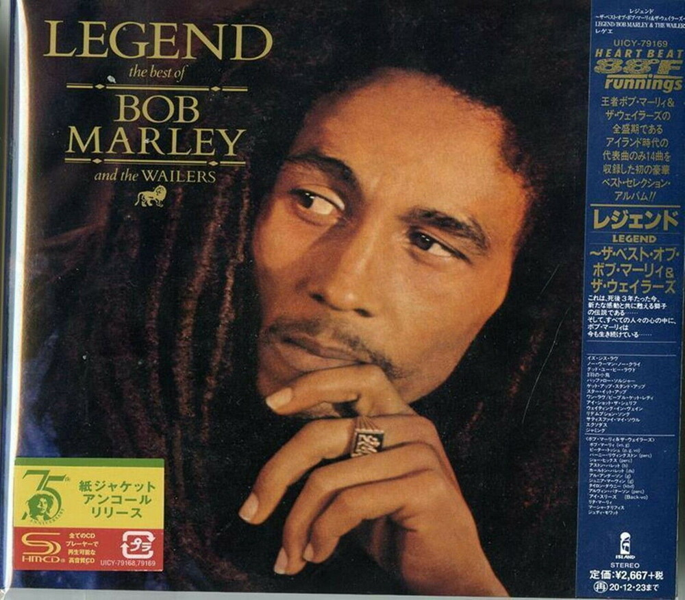 Bob Marley & The Wailers - Legend (Jmlp) (Ltd) (Shm) (Jpn)