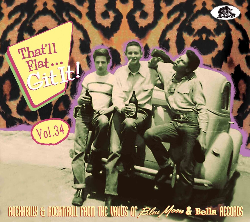 Thatll Flat Git It Vol 34 Rockabilly / Various - That'll Flat Git It Vol. 34: Rockabilly / Various
