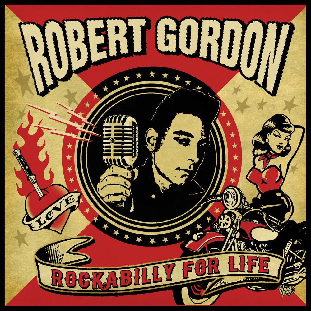Robert Gordon / Williamson,James / Spedding,Chris - Rockabilly For Life (Blue) (Pnk)