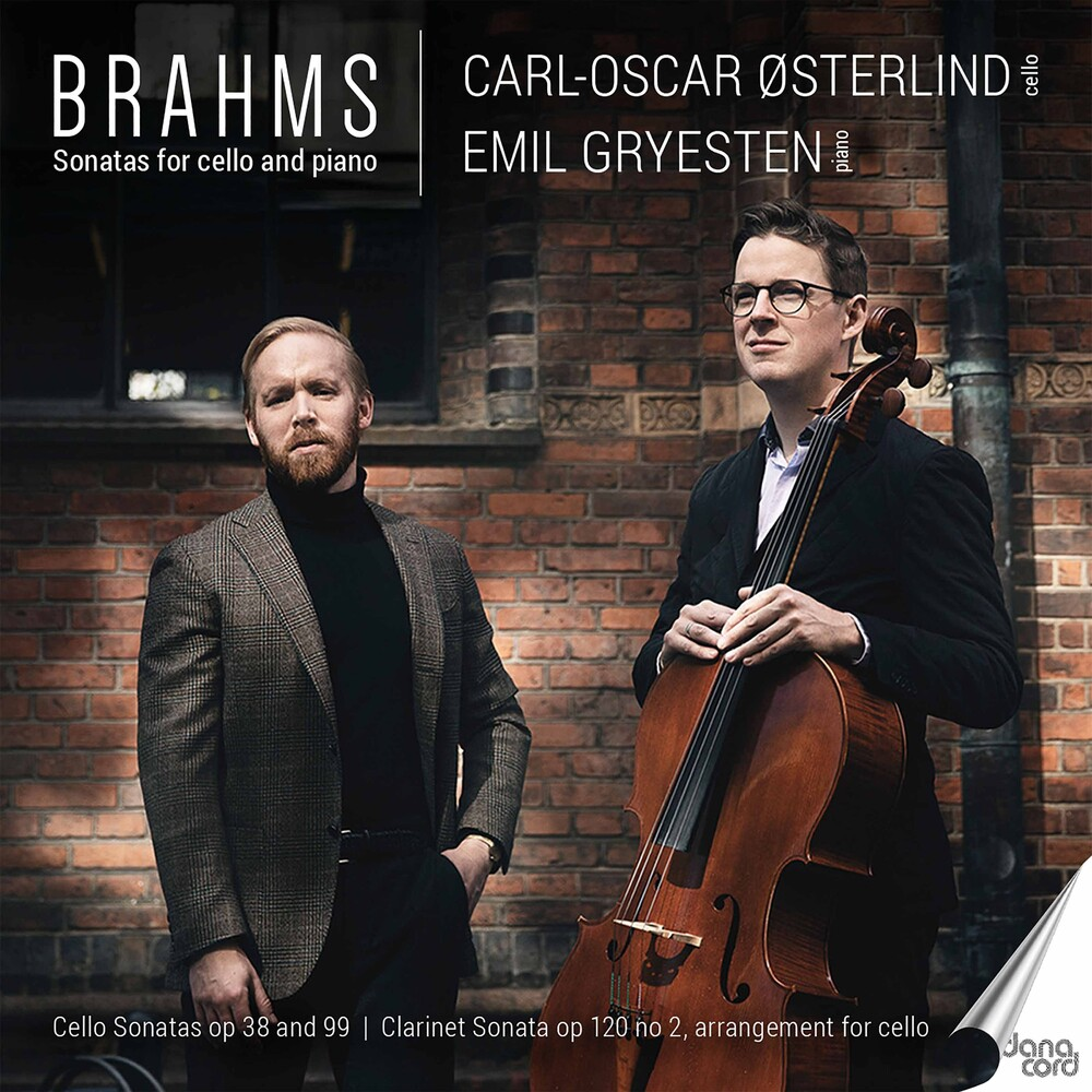 Brahms / Osterlind / Gryesten - Sonatas For Cello & Piano
