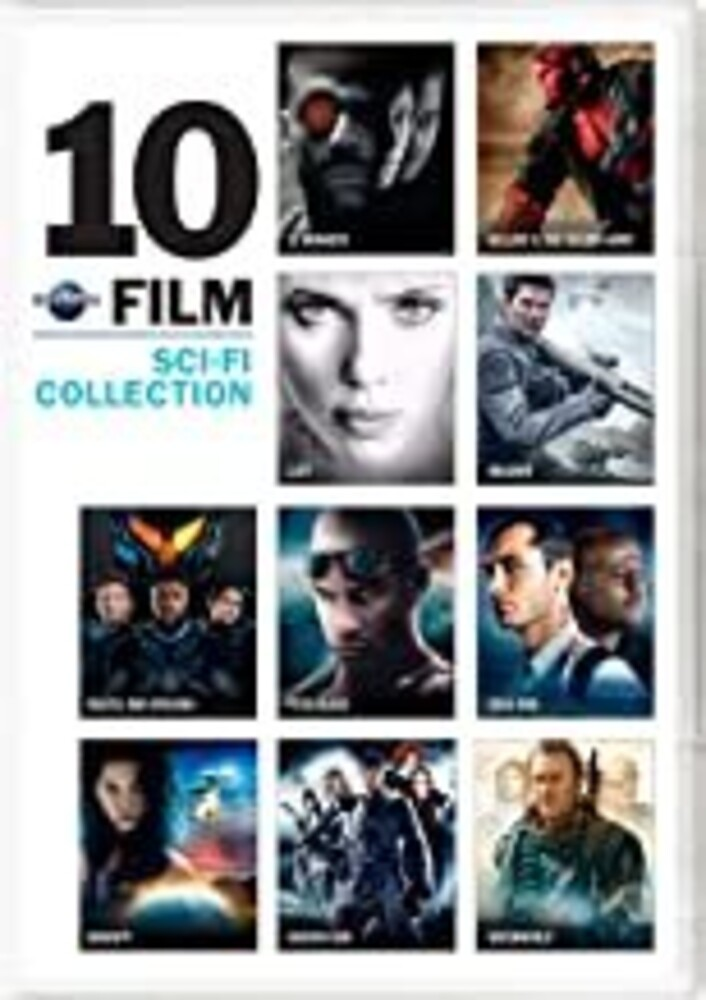 Universal 10-Film Sci-Fi Collection - Universal 10-Film Sci-Fi Collection (10pc) / (Box)