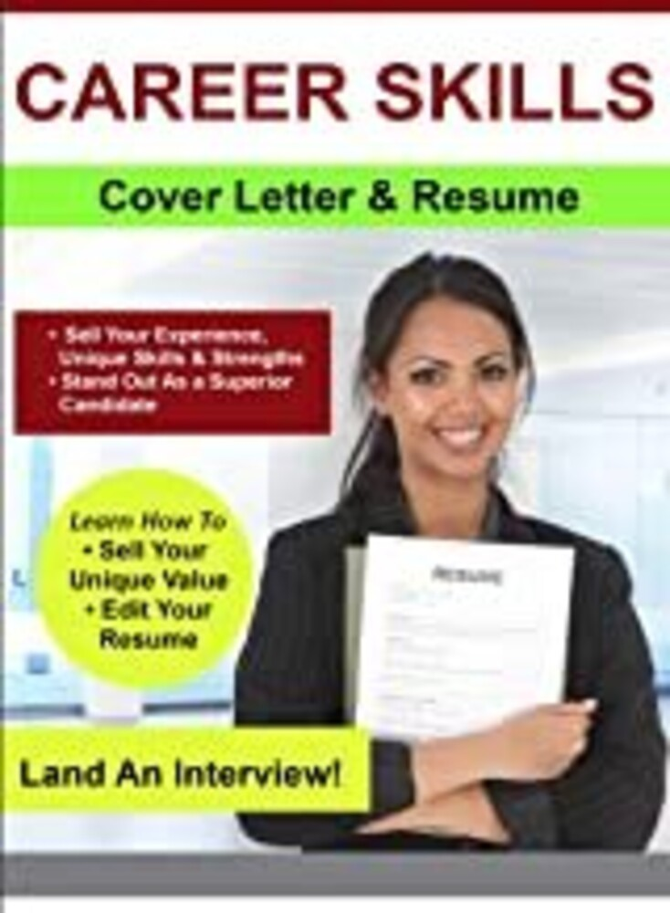 - Create A Great Cover Letter And Resume / (Mod)