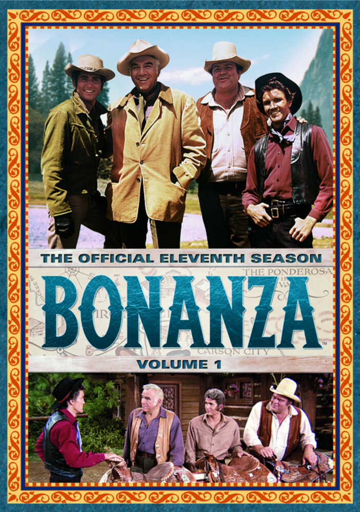 Bonanza: Official Eleventh Season - Vol 1 - Bonanza: Official Eleventh Season - Vol 1 (4pc)
