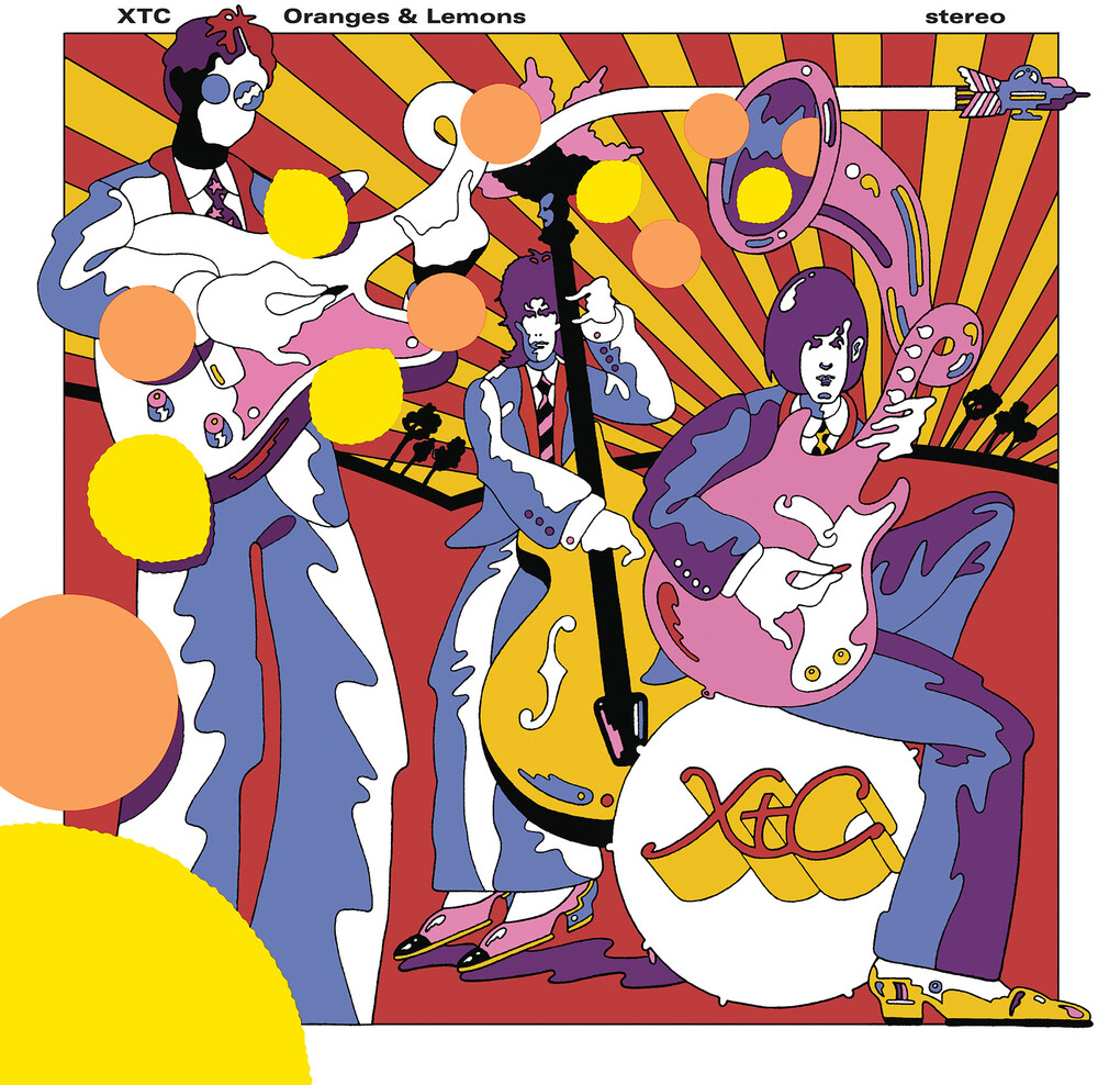 Xtc - Oranges & Lemons [Import 200gm 2LP]