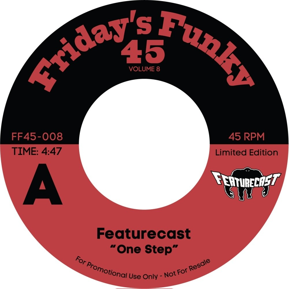 Featurecast - One Step Ahead / Ain't Got Time