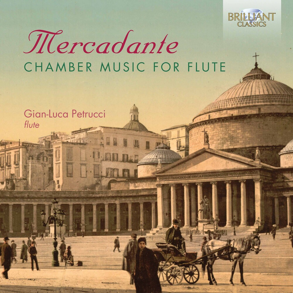 Mercadante / Petrucci - Chamber Music for Flute