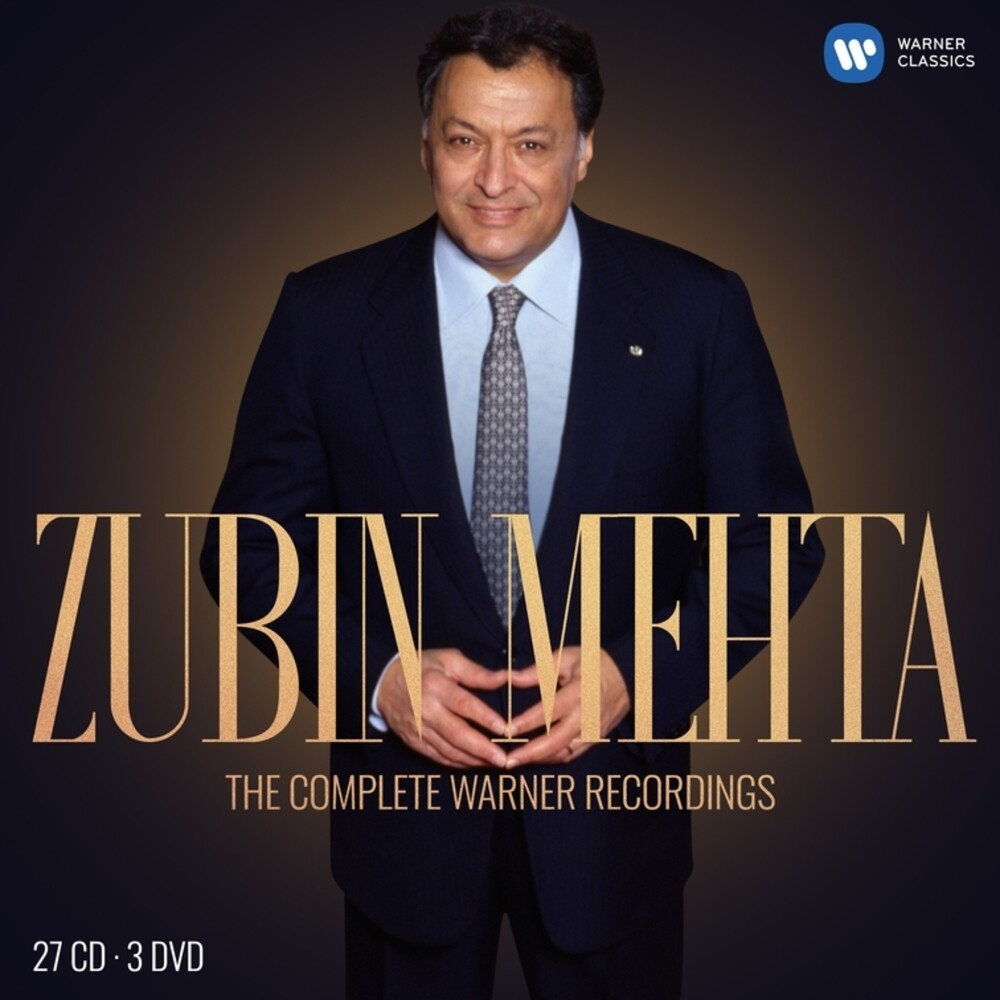 ZUBIN MEHTA - Complete Warner Recordings (W/Dvd) (Box)