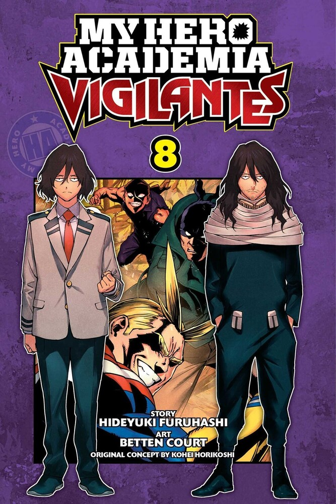 - My Hero Academia: Vigilantes, Vol. 8
