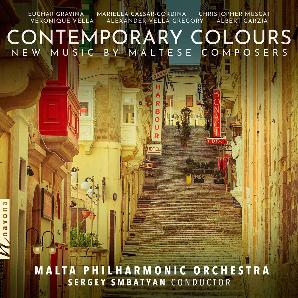 Malta Philharmonic Orchestra - Contemporary Colours / Various
