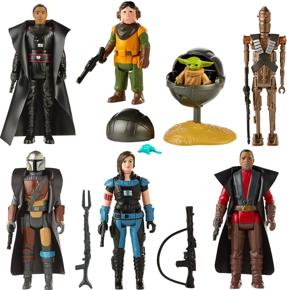 - Hasbro Collectibles - Star Wars Black Series Return Of The Jedi RetroAssortment