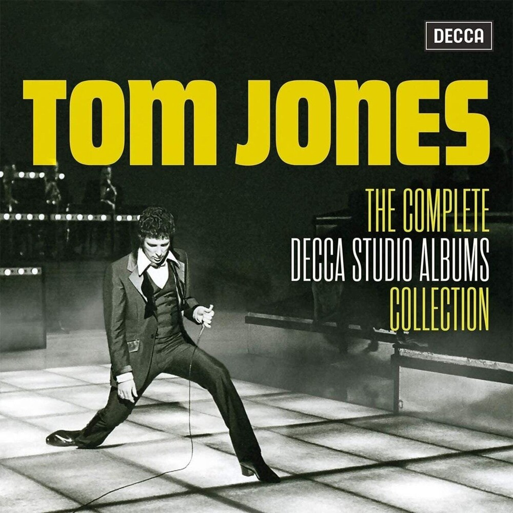 Tom Jones - Complete Decca Studio Albums (Box) (Uk)