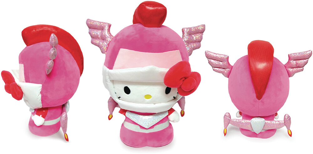 - NECA - Hello Kitty Cosplay Kaiju Plush Mechazoar Sakurat