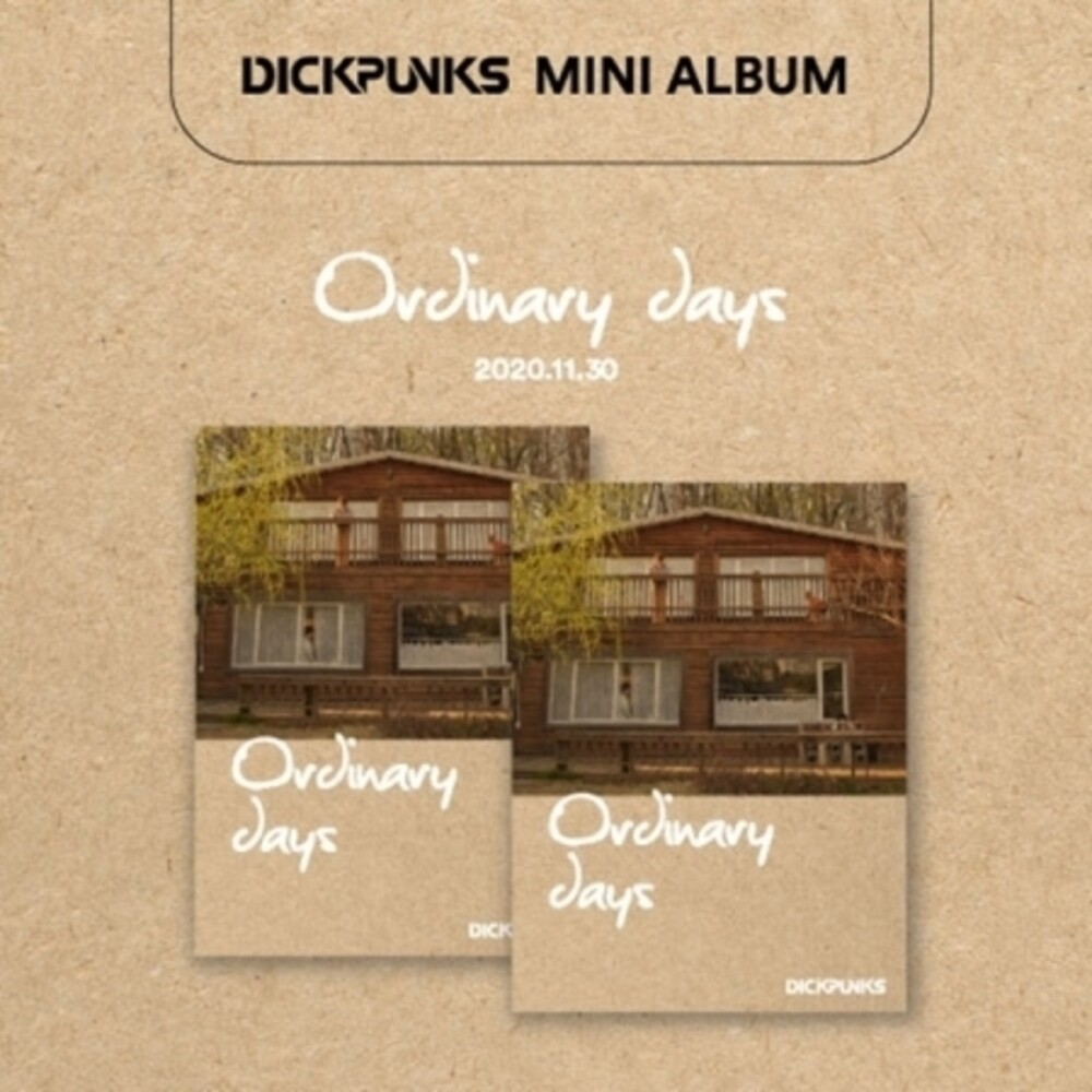 DICKPUNKS - Ordinary Days (incl. 3D Pop-Up + Photobook)