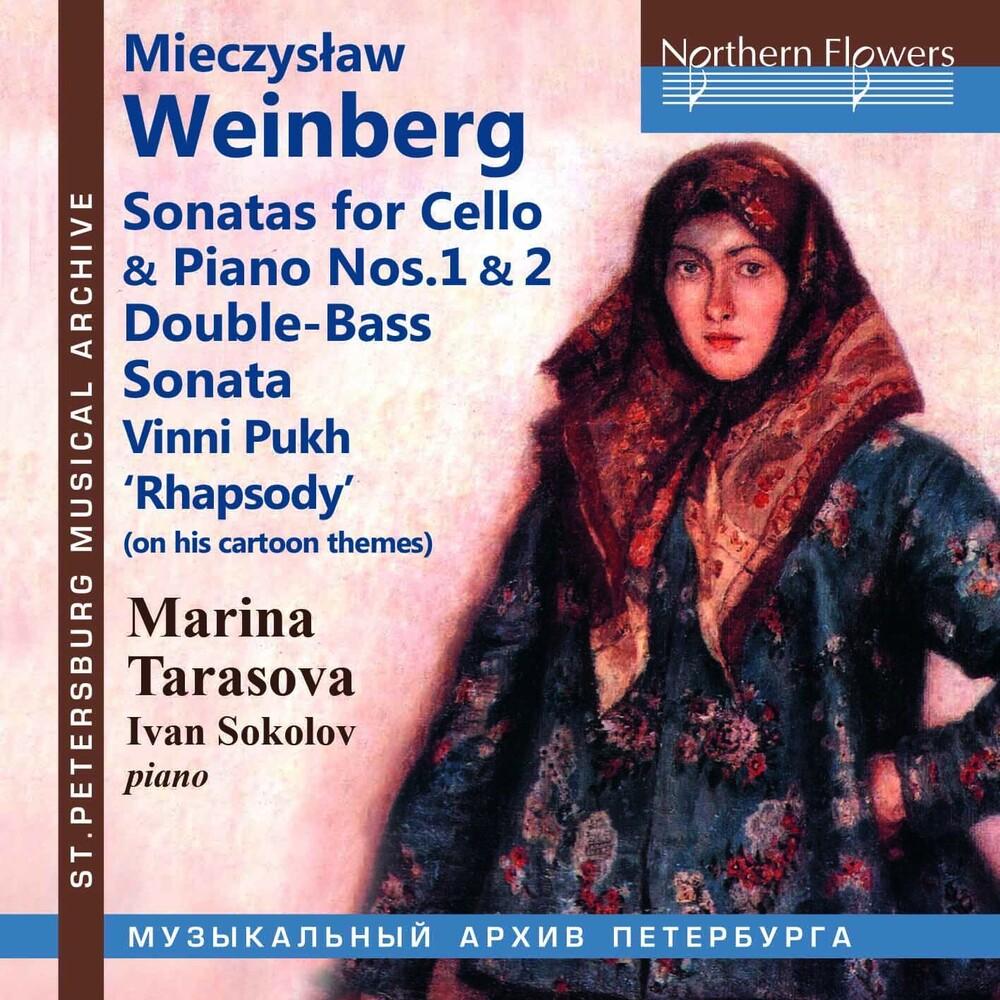 Marina Tarasova / Sokolov,Ivan - Mieczyslaw Weinberg: Sons For Vc & Pno 1 & 2